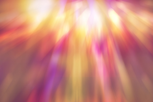 Divertida combinação de cores, fundo desfocado colorido abstrato brilhante Foto Premium