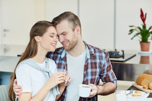 Doce casal Foto gratuita
