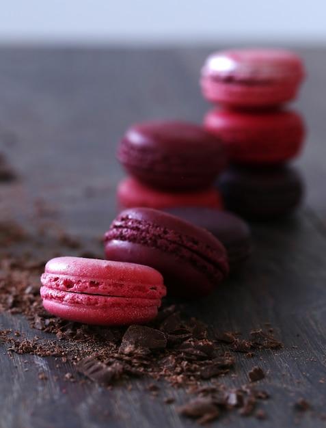 Doce doce doce com chocolate Foto gratuita