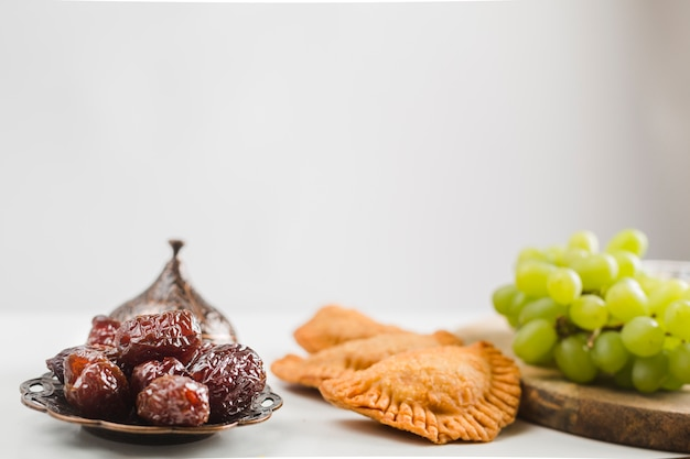 Doces e pastéis turcos Foto gratuita