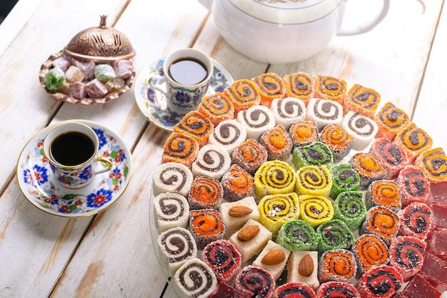 Doces turcos Foto Premium