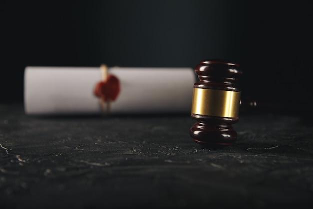 Documentos de separação judicial Foto Premium