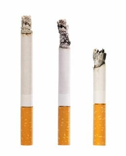 Doença de cigarro, isolado Foto gratuita