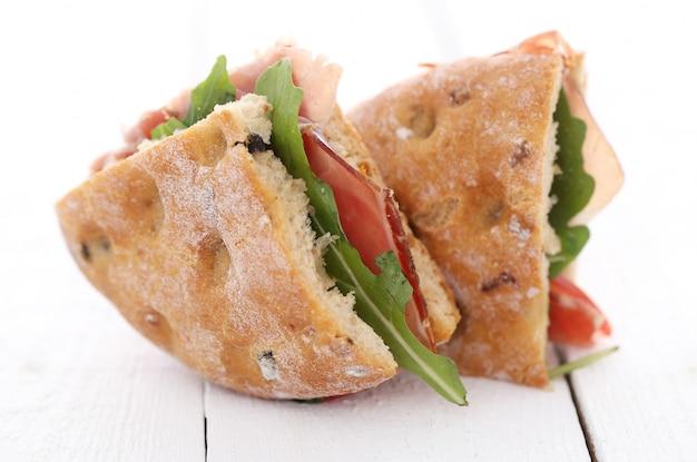 Dois deliciosos sanduíches Foto gratuita