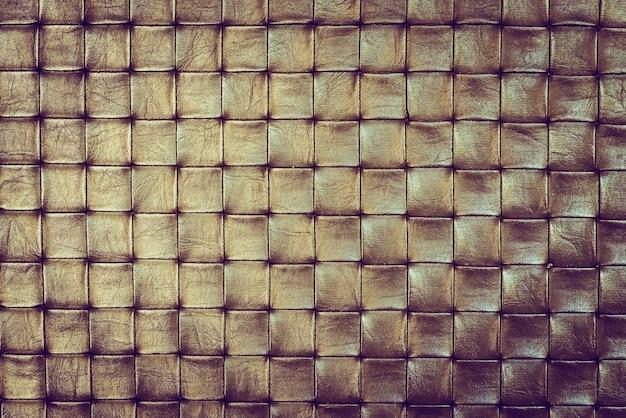 Dourados quadrados textura Foto gratuita
