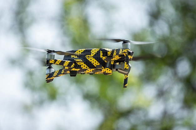Drone quadrotor Foto Premium