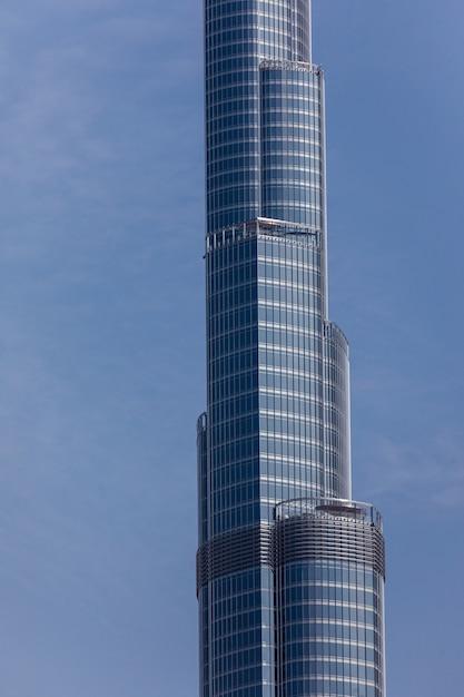 Dubai burj khalifa o edifício mais alto do mundo Foto gratuita