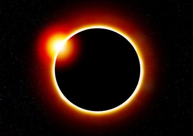 Eclipse solar. Foto Premium