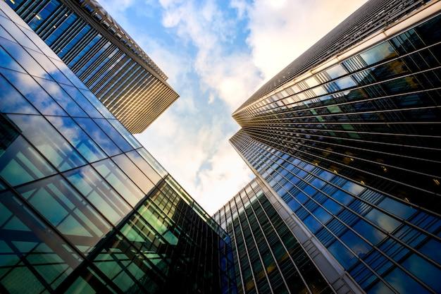 Edifício de skyscrapper de escritório de londres Foto Premium