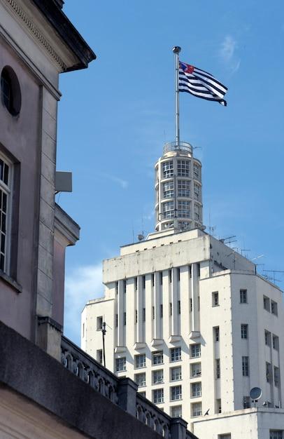 Edifício do banespa, um dos símbolos de são paulo Foto Premium