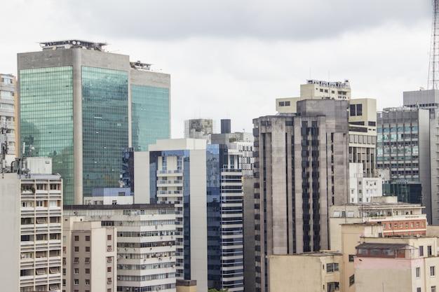 Edifícios do centro da cidade de são paulo Foto Premium