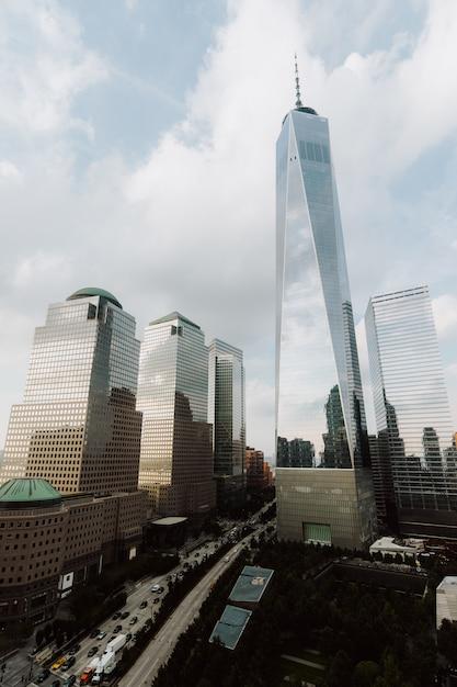 Edifícios e arranha-céus em nova york Foto gratuita