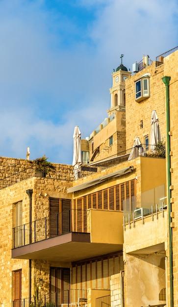 Edifícios na cidade velha de jaffa - tel aviv, israel Foto Premium