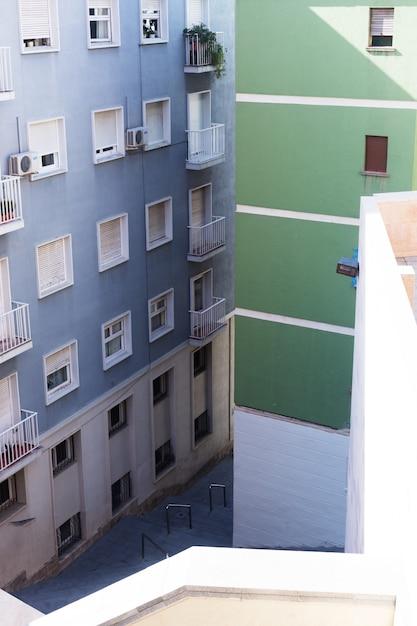Edifícios públicos. vista exterior dos edifícios Foto Premium