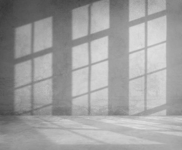 Elemento de design de sombra para moldura de janela Foto gratuita