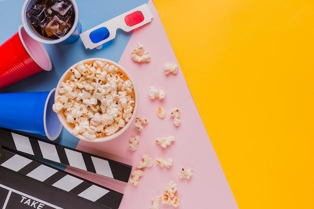 Elementos de cinema Foto gratuita