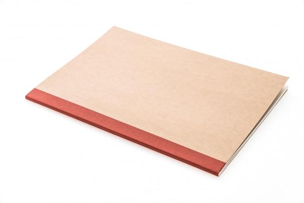 Em branco mock up livro de nota Foto gratuita