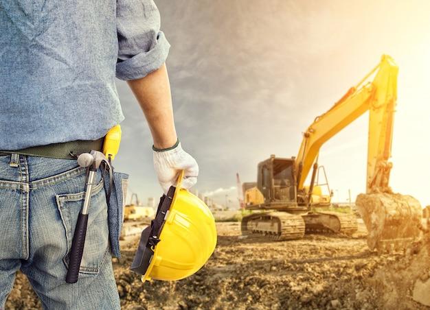 Em construção Foto Premium