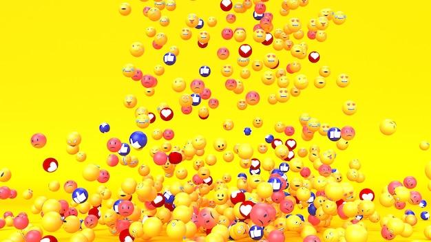 Emoji emoticon personagem Foto gratuita