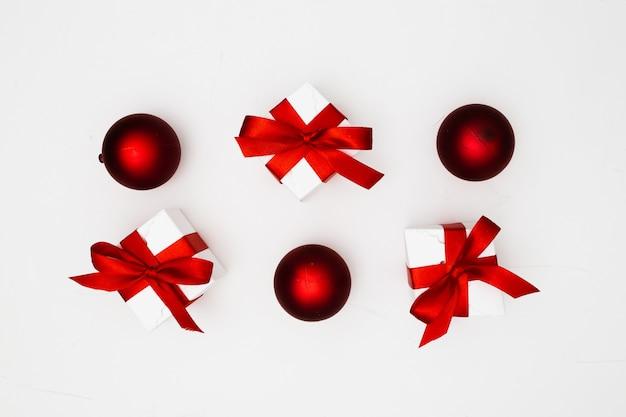 Enfeites de natal Foto gratuita
