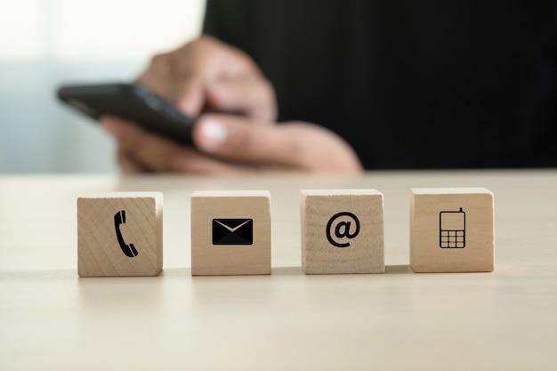 Entre em contato conosco (linha direta de suporte ao cliente people connect) ligue para o suporte ao cliente Foto Premium