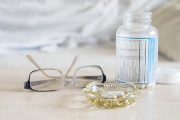 Envelhecimento e drogas Foto Premium