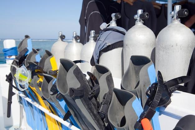 Equipamento de mergulho Foto gratuita