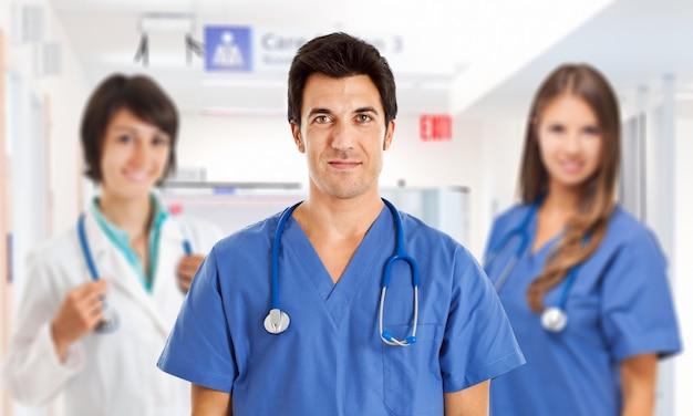 Equipe de médicos Foto Premium
