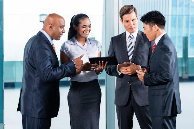 Equipe de negócios da índia Foto Premium
