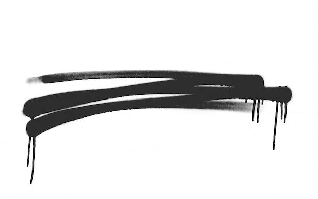 Esboço forma splat pulverização texturizados Foto gratuita