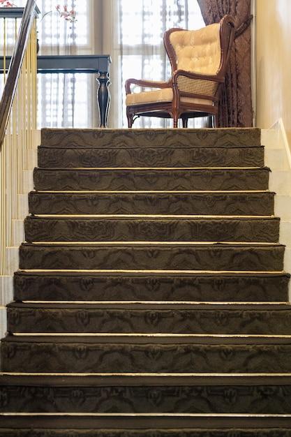 Escada bonita localizada em bandung, na indonésia Foto Premium