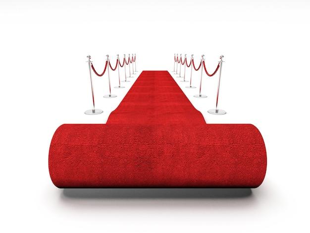 Escada do tapete vermelho Foto Premium
