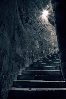 Escada para pagãos escada hdr Foto gratuita