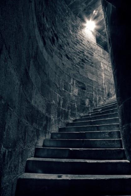 Escada para pagãos hdr Foto gratuita