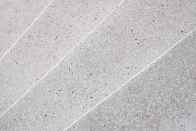 Escadas terrazzo pedra polida passarela e andar Foto Premium