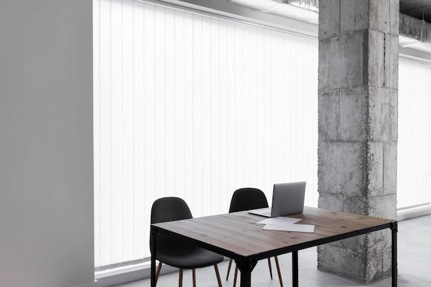 Escritório vazio com espaço de cópia Foto Premium
