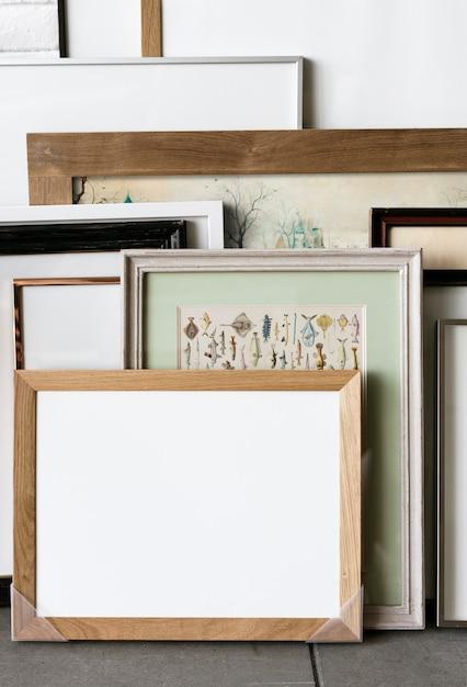Espaço de design com moldura Foto Premium