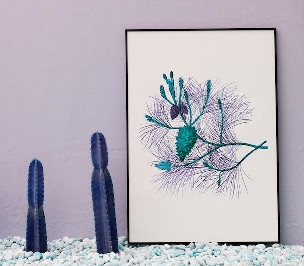 Espaço de design de maquete na placa de papel Foto gratuita