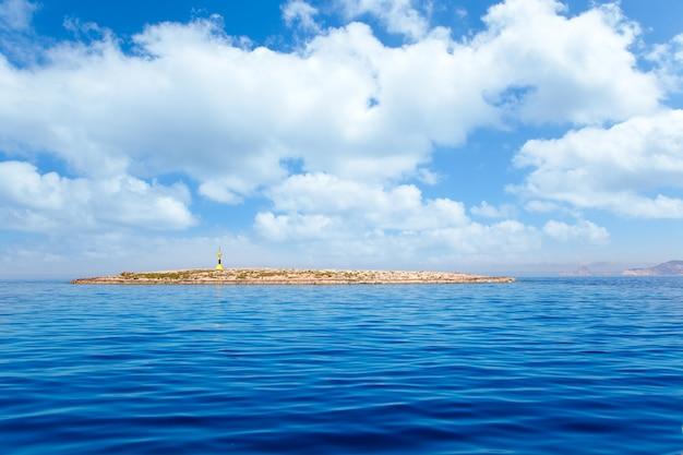 Espalmador na ilha de formentera farol de gastabi Foto Premium