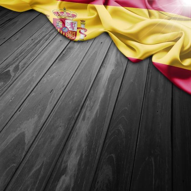 Espanha fundo da bandeira Foto gratuita