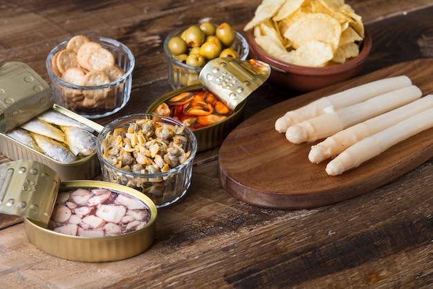 Espanhol brunch típica Foto Premium