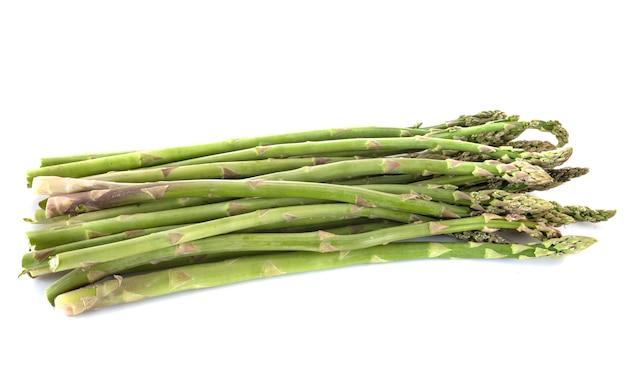 Espargos verdes no estúdio Foto Premium