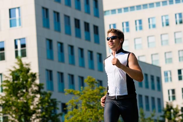 Esportes urbanos - fitness na cidade Foto Premium
