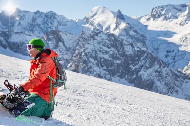 Esquiar Foto Premium