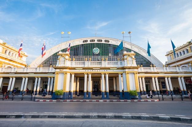 Estação ferroviária bangkok Foto Premium