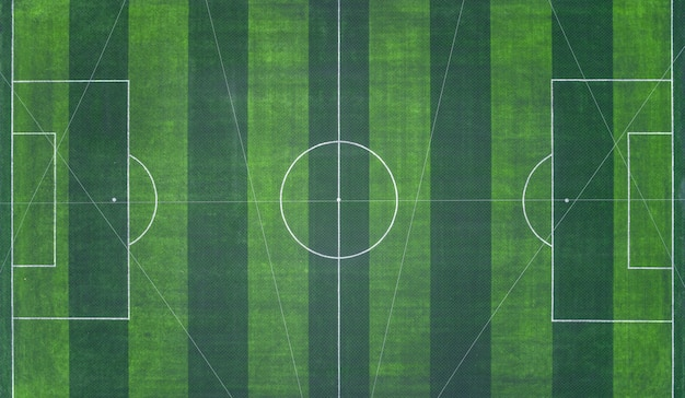 Estádio de futebol ou futsal Foto Premium