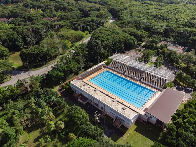 Estádio piscina Foto Premium