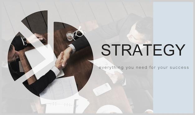 Estratégia de negócio Foto Premium