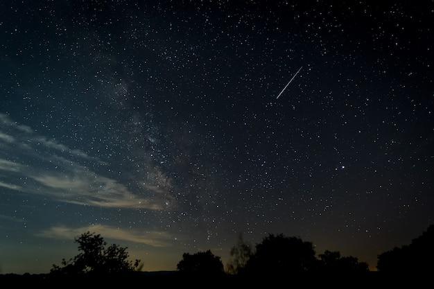 Estrela cadente Foto Premium