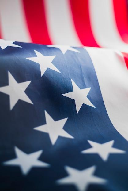 Estrelas da bandeira dos estados unidos Foto gratuita